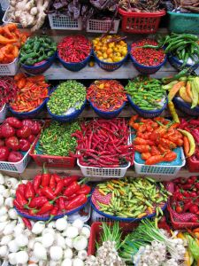 Peppers come in every size, color and flavor.